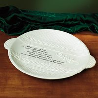 Abbey Press Cozy N Celtic - Plate - St Patricks Day Kitchen Housewares 56113T-ABBEY