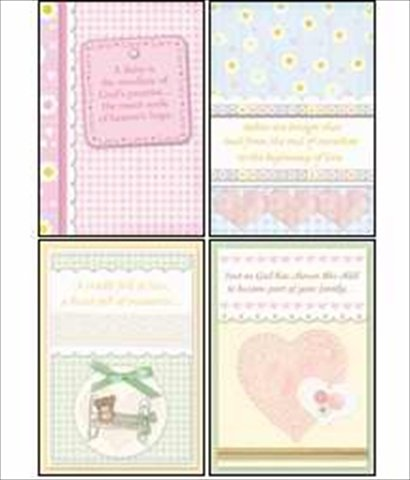 Warner Press 306946 Card Boxed Congratulations Baby Bundles Of Blessings