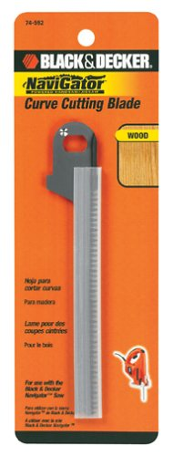 Black & Decker 74-592 Curved Cutting Jig Saw Blade for SC500 Navigator