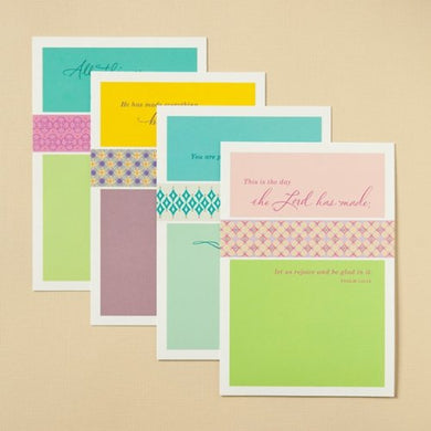 1 X Birthday Cards - Scripture (Dayspring 3737-5) Box of 12, 4 designs