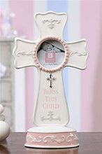 "Gift Craft ""Bless This Child Cross"" Dolomite Frame"