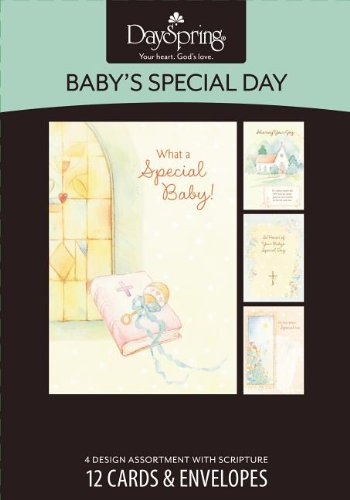 Card-Bxd-Babys Special Day-Dedication and Baptism