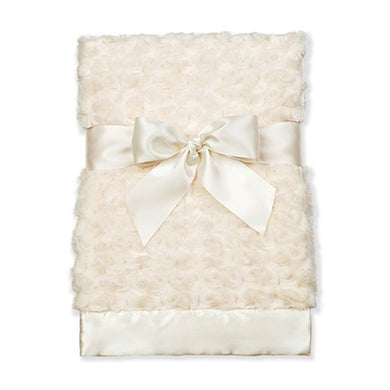 Bearington Baby - Large Swirly Snuggle Blanket (Cream)