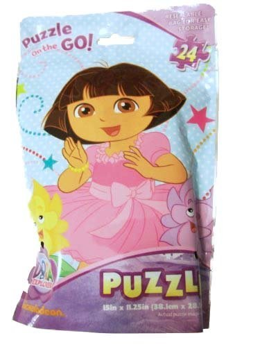 Puzzle on the GO! Dora the Explorer My Flower Friends! (Mis Amigas Flores)