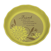Abbey Press Friend Pie Plate - Inspiration Faith Blessing Spirit 56225T-ABBEY