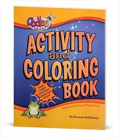 Activity and Coloring Book