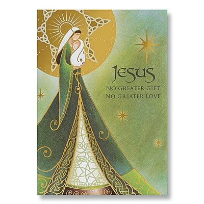 Abbey Press 77126T Irish Madonna and Child Christmas Cards