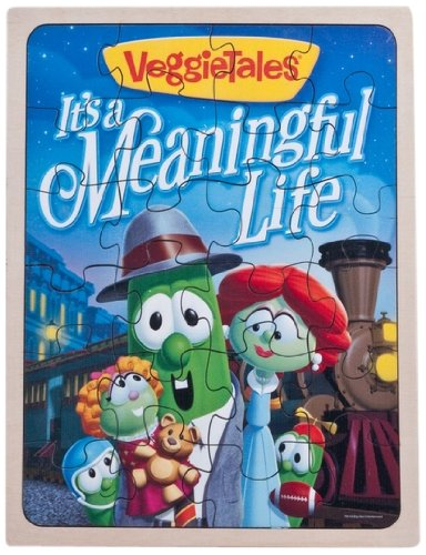 It's A Meaningful Life Wooden Puzzle