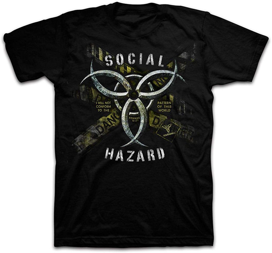 Social Hazard - Christian T-Shirt