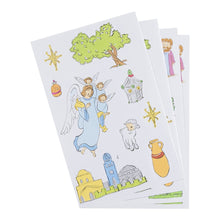 DaySpring Children's Christmas Activity Booklet with Stickers, Jesus Is Born (46693)