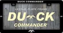 Duck Dynasty Duck Commander Plastic License Plate Frame