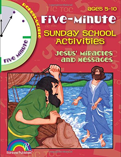 5 Minute Sunday School Activities -- Jesus' Miracles and Messages