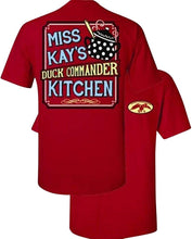 Duck Commander Duck Dynasty Miss Kays Kitchen T-Shirt - Red