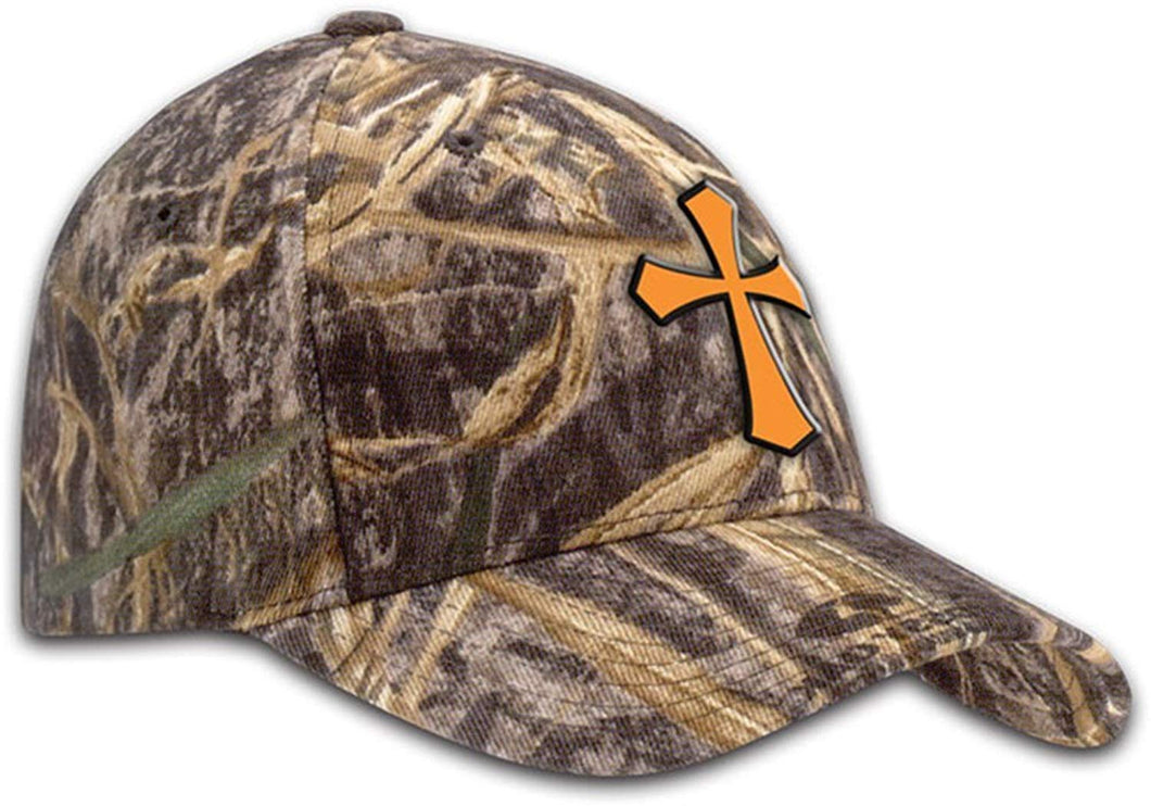 Hunting Camo Cross Cap by Kerusso