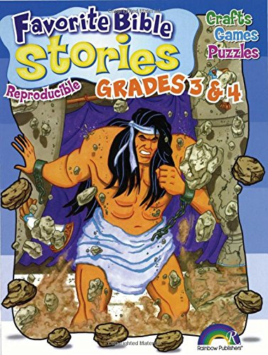 Favorite Bible Stories Grades 3-4