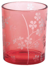 Butterfly Votive Candle Holder - Pink