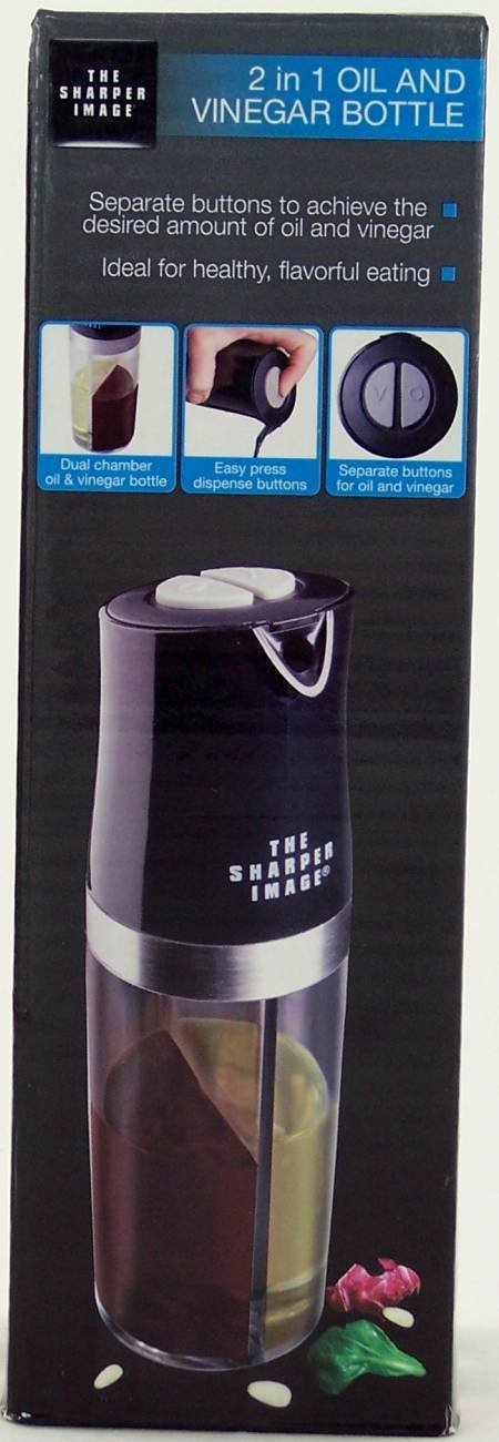 The Sharper Image 2 in 1 oil and vinegar bottle by The Sharper Image
