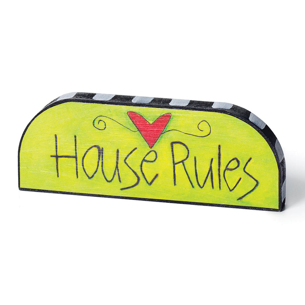 StorySquares House Rules Topper - 8