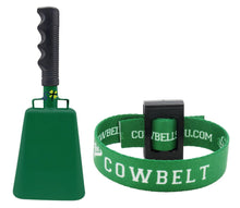 Various Sizes and Team Colors Cowbell with Stick Grip Handle Bell for Cheering at Sporting & Wedding Events - Cow Bell by Stewart Trading™