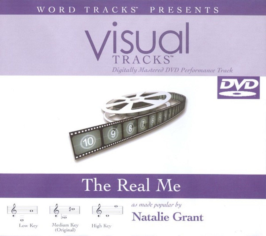 The Real Me, Accompaniment DVD with Lyrics by Natalie Grant