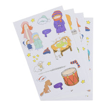 DaySpring Children's Christmas Activity Booklet with Stickers, Let's Sing to The King (40955)