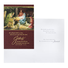 DaySpring Boxed Christmas Cards 18 Ct w Embossed Envelopes - Traditional (57528)