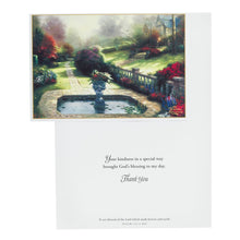 Thomas Kinkade - Thank You Inspirational Boxed Cards - Landscape