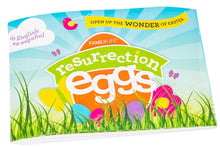 Resurrection Eggs - 12-Piece Easter Egg Set with Booklet and Religious Figurines Inside - Tells the Full Story of Easter