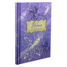"""Believe"" Hardcover Journal"