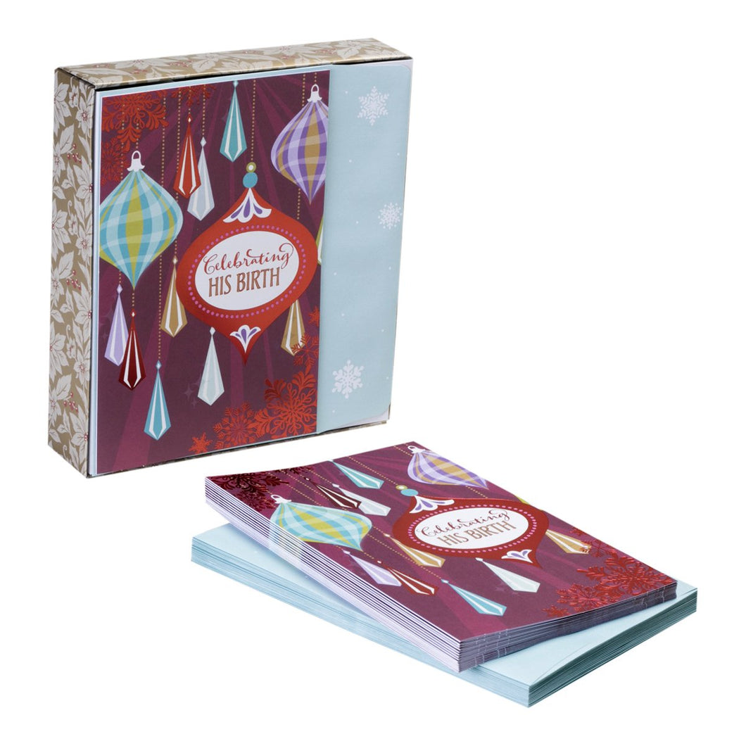 DaySpring Christmas Boxed Cards Celebrating His Birth (8198359941)