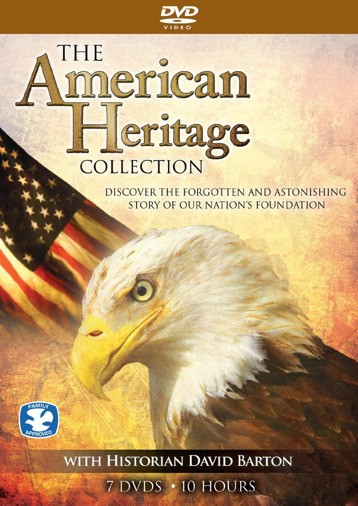 The American Heritage Collection, Discover The Forgotten And Astonishing Story Of Our Nation's Foundation With Historian David Barton 7 DVD Set