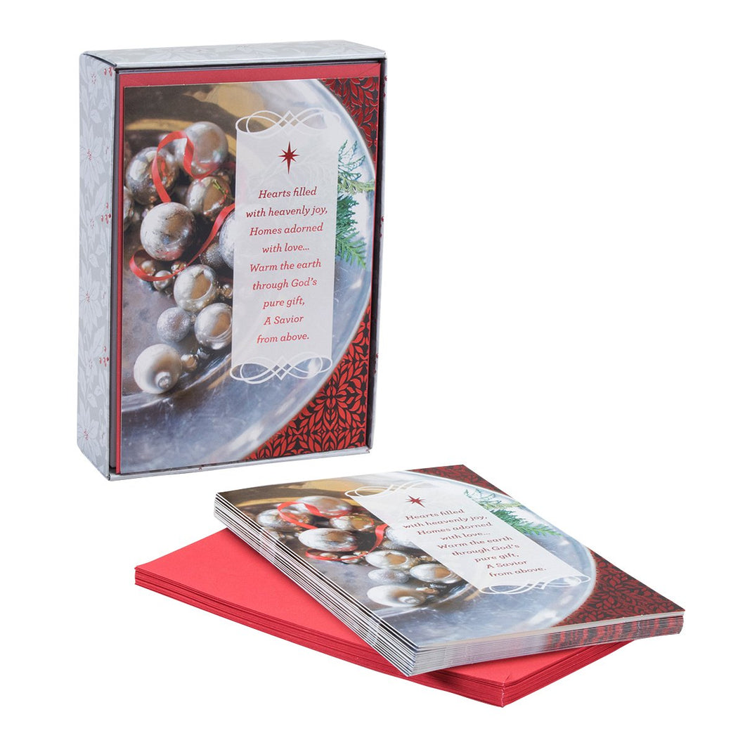 DaySpring Christmas Boxed Cards Hearts Filled With Joy (8198357396)