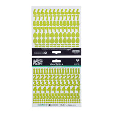 Illustrated Faith  - Numbers Stickers - Green Olive You