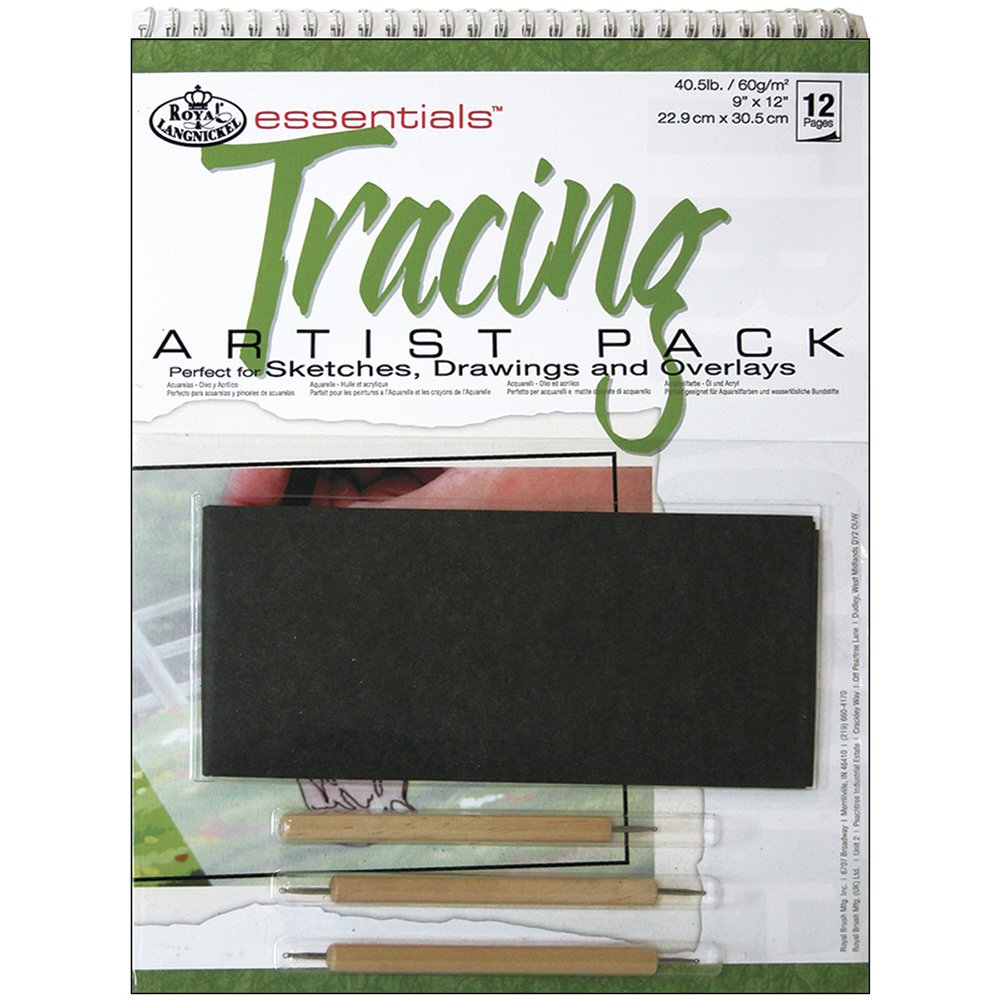 Royal & Langnickel Tracing Artist Pack, 9-Inch by 12-Inch