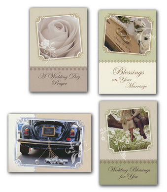 A Day To Remember, Wedding Greeting Cards, Box of 12- Christian Inspirations