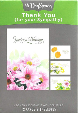 Card-Boxed-Thank You (For Your Sympathy) (Box Of 1
