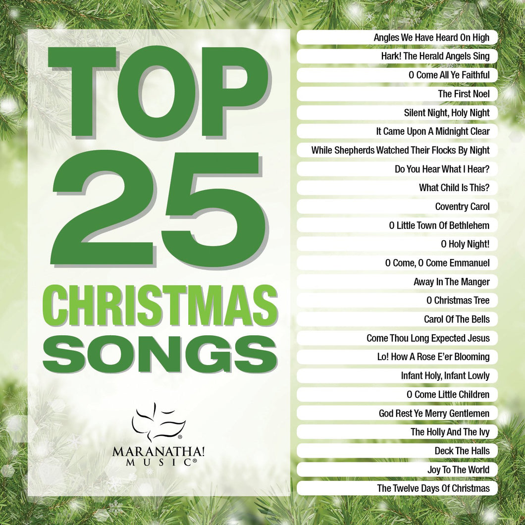 Top 25 Christmas Songs [2 CD]