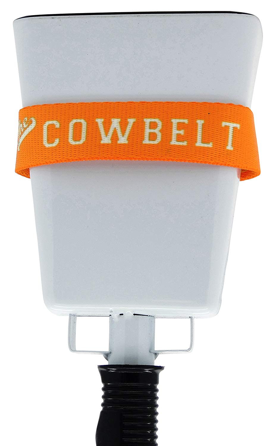 COWBELL Cowbelt Holster to Hold Bell for Cheering at Sporting Events