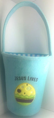 Jesus Lives Plush Easter Blasket