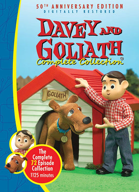 Davey & Goliath Complete Collection -72 Episodes - 5 DVD Box Set
