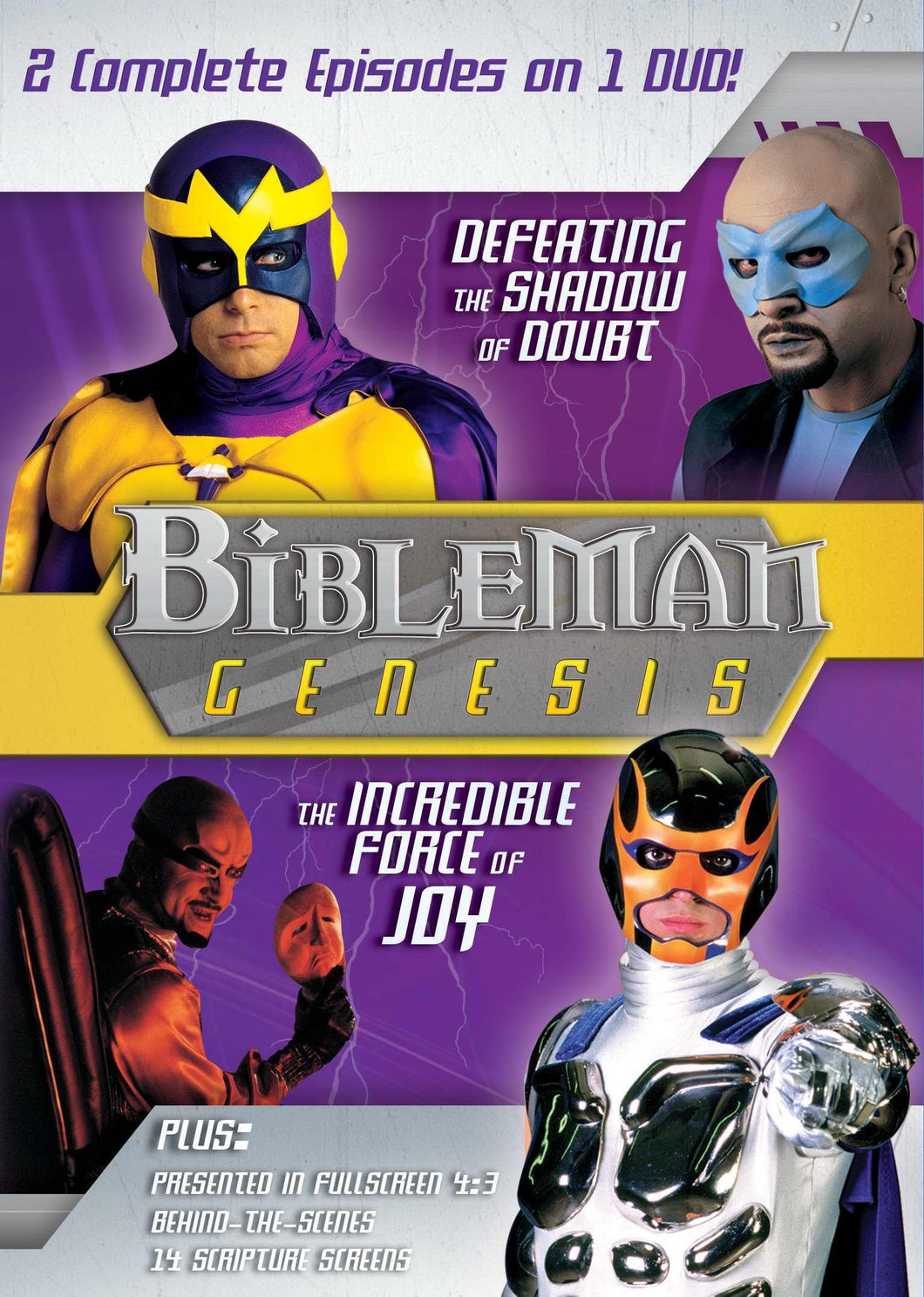 Bibleman Genesis Vol. 2: Defeating the Shadow of Doubt / the Incredible Force of Joy: Doubt and Joy ( Bibleman Genesis #2 )