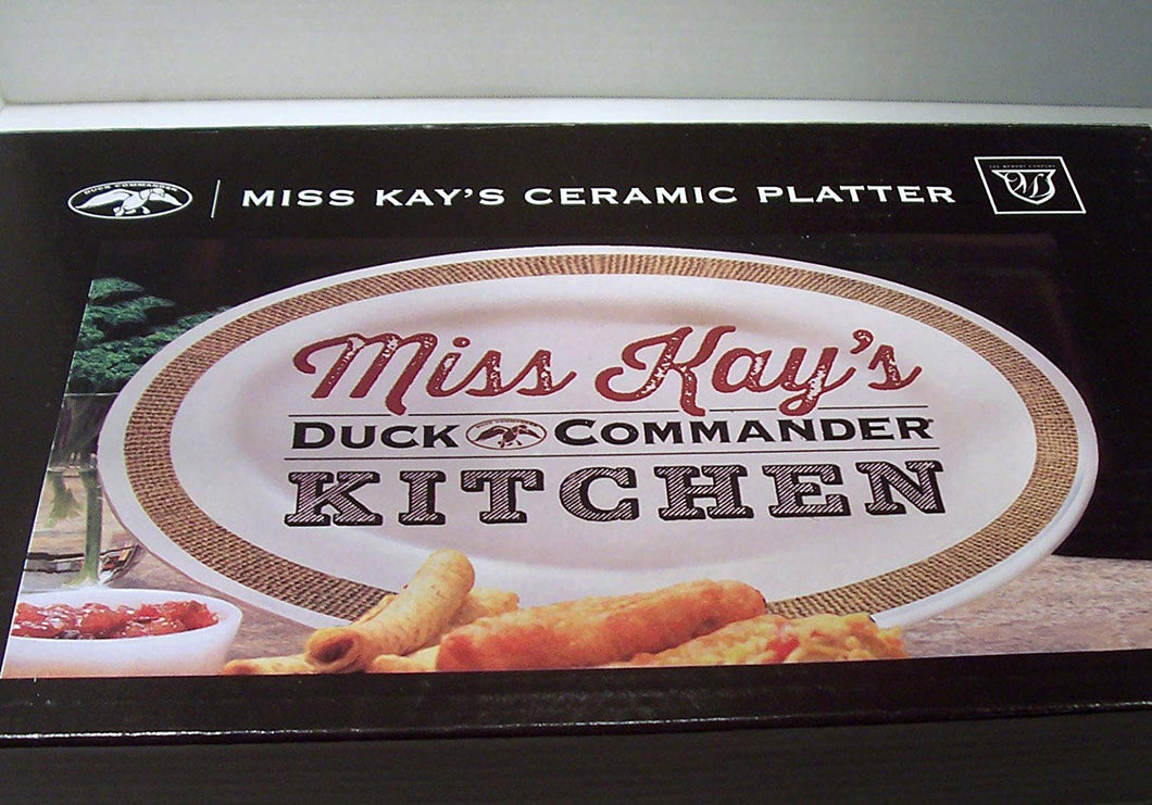 The Memory Company Mrs. Kay Ceramic Platter