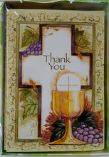First Communion Thank You Notes - Pack of 12