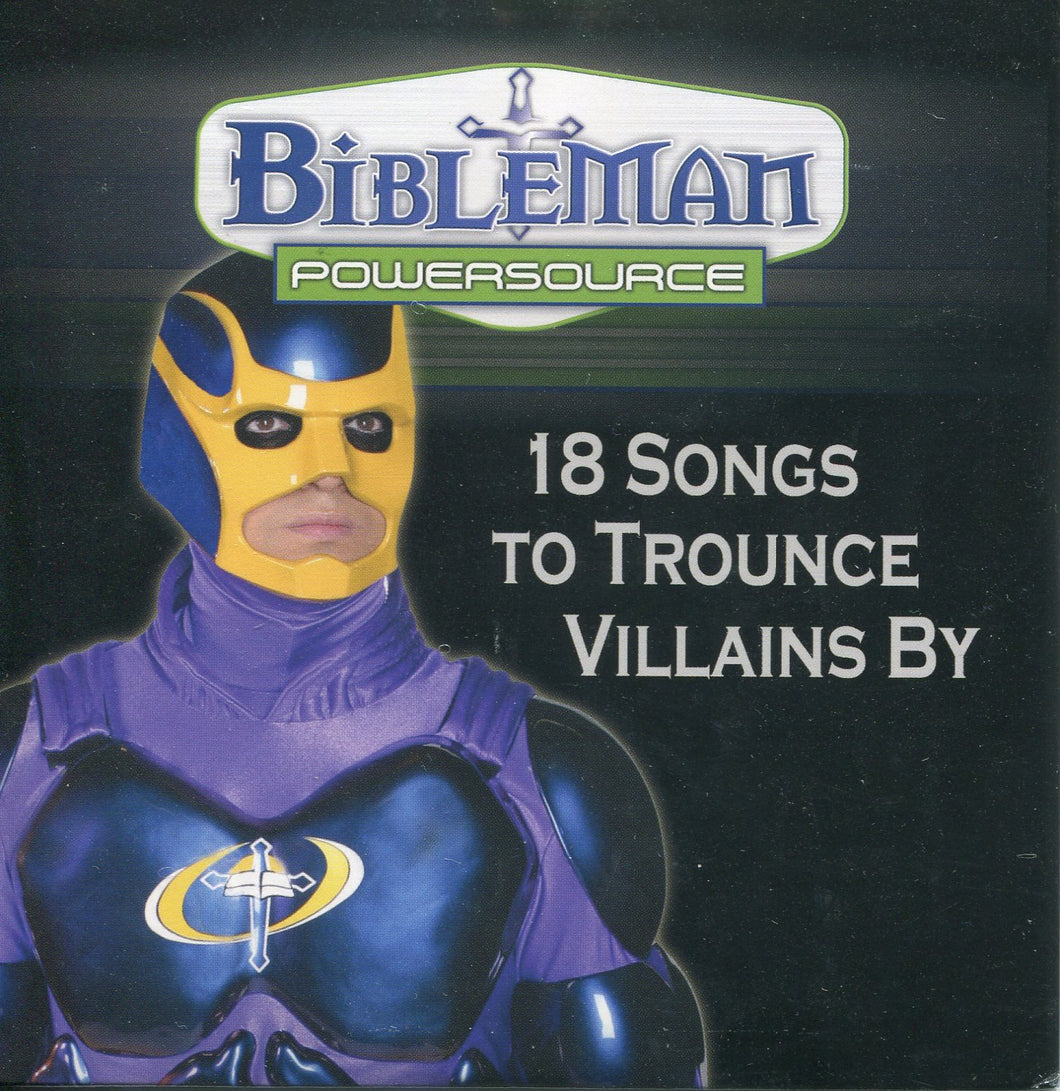 Bibleman Powersource 18 songs to Trounce Villains By - Childrens