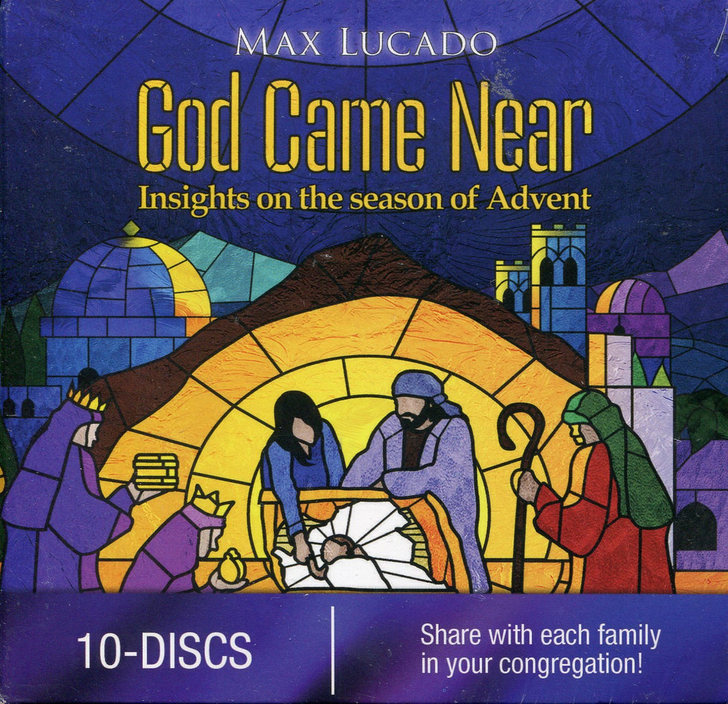 Max Lucado's God Came Near Churck 10 Pack: Insights on the Season of Advent
