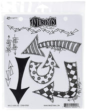 Ranger Dyan Reaveley's Dylusions Cling Stamp Collections, 8.5 by 7-Inch, Which Way Up