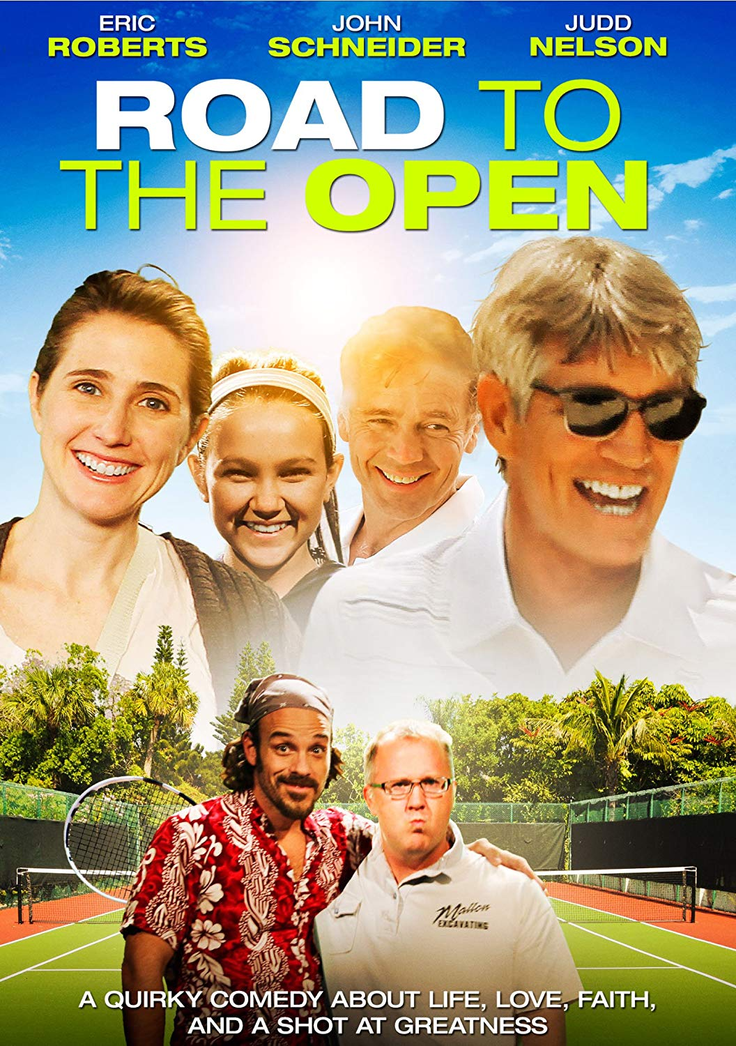 Road to the Open - A Quirky Comedy About Life, Love, Faith and A Shot at Greatness (CBA version)