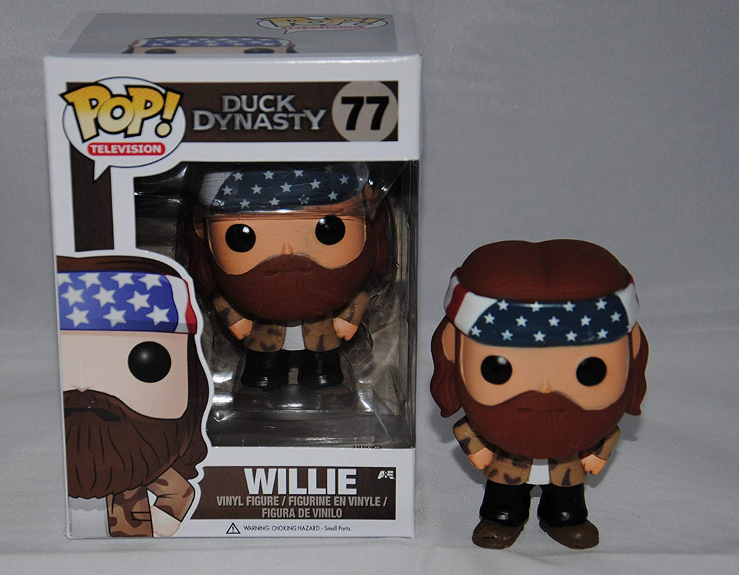 POP! Television Duck Dynasty Willie Vinyl Figure #77