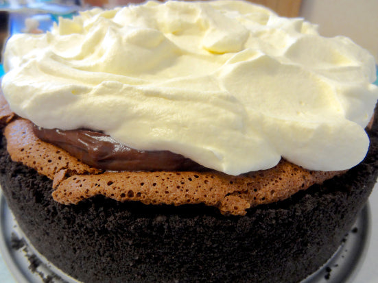 Mississippi Mud Pie-Cake