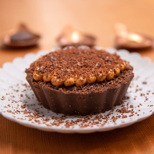 Chocolate Coffee Caramel Tart
